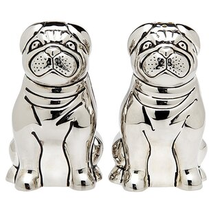 Pug Salt & Pepper Shaker (Set of 2)