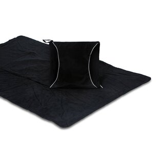 Fleece Blanket Cushion By Wrought Studio