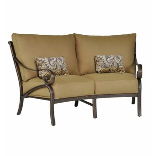 Veracruz Crescent Loveseat with Cushions