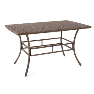 Depuy Outdoor Garden Rattan Dining Table
