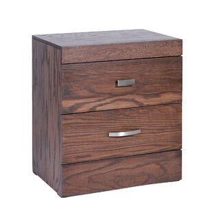 Munich 2 Drawer Nightstand
