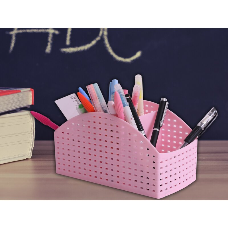 Ebern Designs Norah Desktop Storage Organizer Caddy | Wayfair