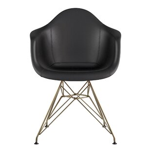 Eiffel Genuine Leather Upholstered Dining Chair