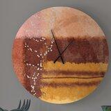 Orange Ebern Designs Wall Clocks You Ll Love In 2021 Wayfair