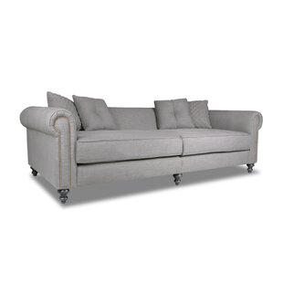 Etchison Plush Deep Chesterfield Sofa