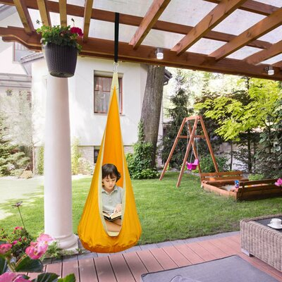 Ventimiglia Pod Chair Hammock by Zoomie Kids #2