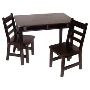 Alexa Kids 3 Piece Table & Chair Set