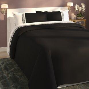 Blackmon Greek Reversible Duvet Cover Set