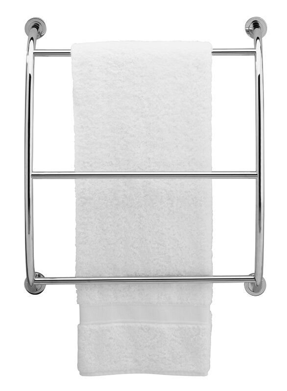 Beautiful Chrome Towel Rack Wall Mounted Part - 3: Essentials Wall Mounted Towel Rack