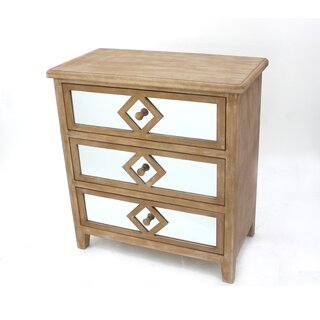 Andromeda 3 Drawer Accent Chest by House of Hampton SKU:BB307348 Shop