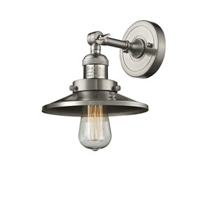 Find for Mikesell 1-Light Bath Sconce By Williston Forge