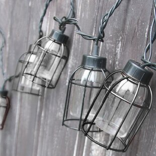 10-Light 7.5 ft. Lantern String Lights By DEI Outdoor Lighting