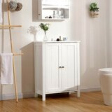 Hitchens 2 Door Mirrored Accent Cabinet by Rosecliff Heights