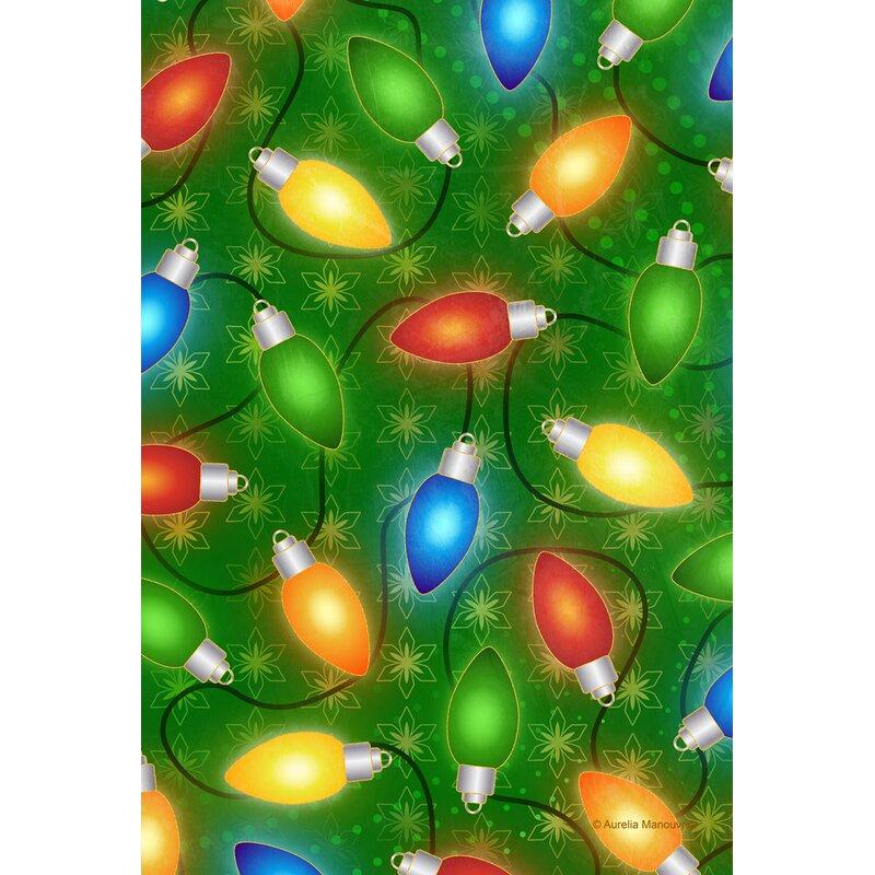 Toland Home Garden Bright Lights Polyester 28 X 40 Inch House Flag Wayfair