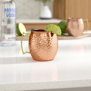 Mcentee 17 oz. Mule Mugs (Set of 2)