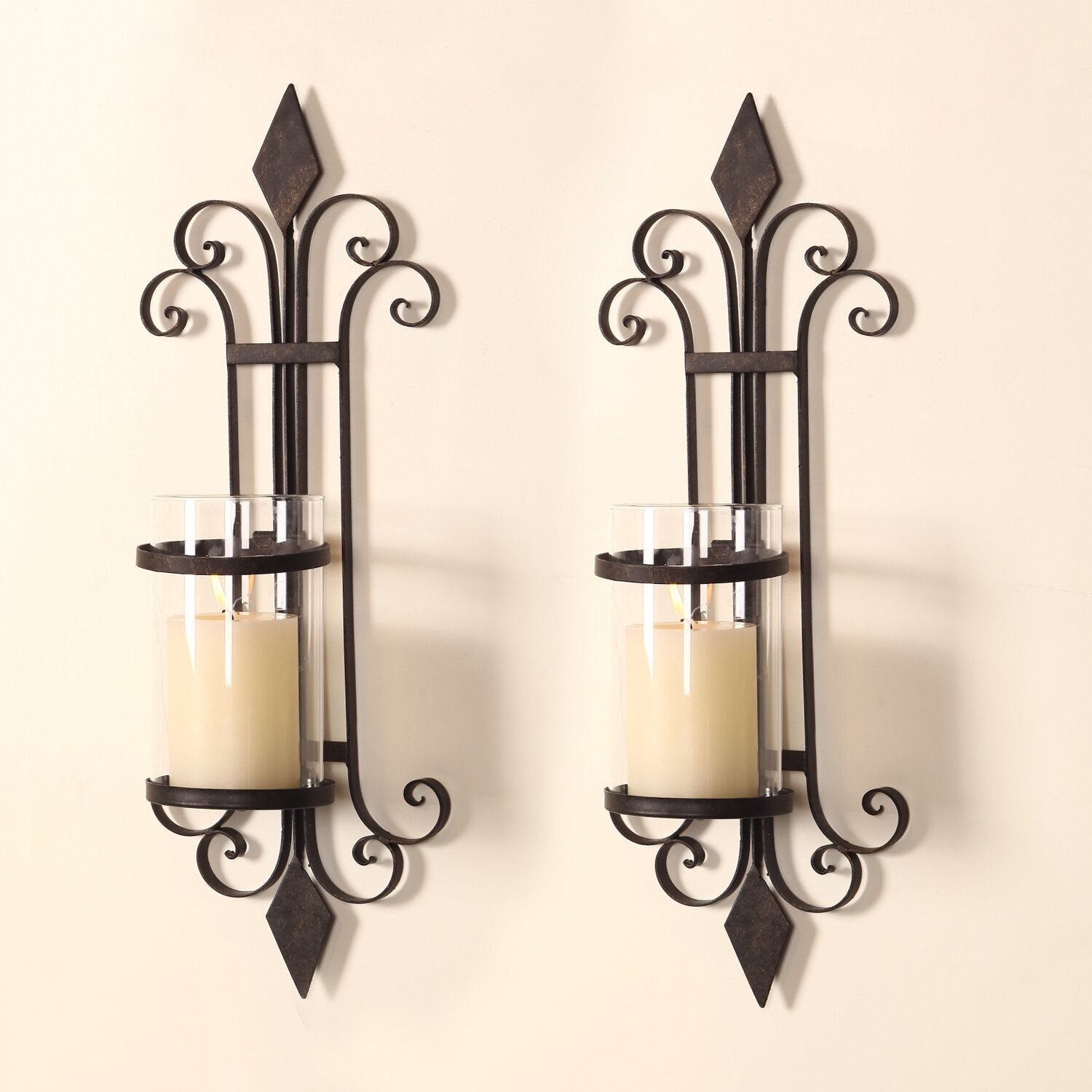 sconce holder yankee candle wall sconces full for candles walls size of brass sale iron holders metal