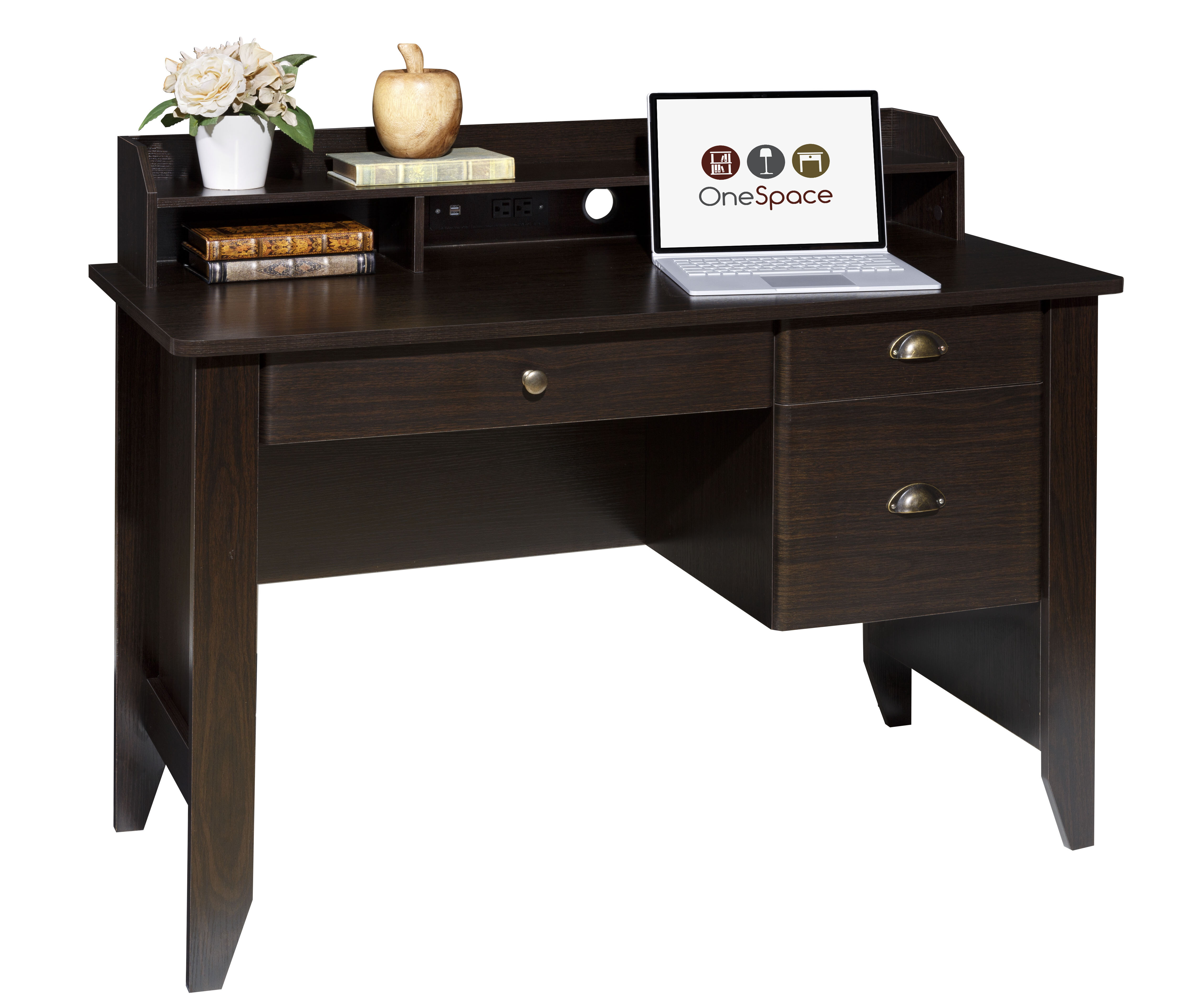 Ishaan Computer Desk With Hutch