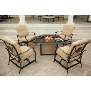 Carleton 5 Piece Conversation Set with Cushions