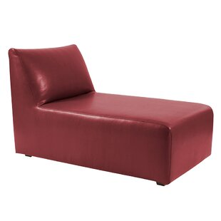 Online Reviews Leigh Woods Chaise Lounge by Orren Ellis Reviews (2019) & Buyer's Guide