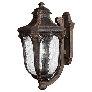 Find Trafalgar 3-Light Outdoor Sconce By Hinkley Lighting