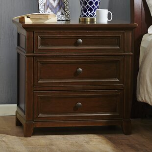 Read Reviews Montclair 3 Drawer Nightstand by Harbor House