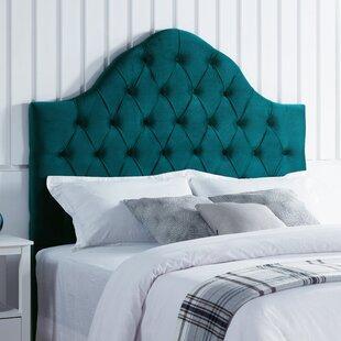 Damari Upholstered Panel Headboard by Everly Quinn