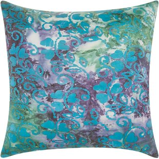 Kirkwood Indoor/Outdoor Throw Pillow by Latitude Run Great price