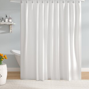 Shower Curtain With Snap Liner