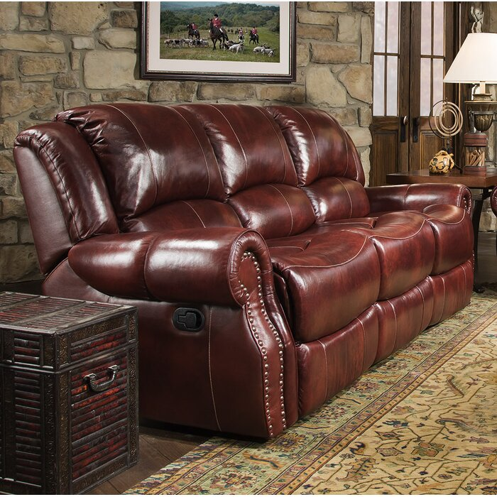 Pleasant Hein Leather Reclining Sofa Creativecarmelina Interior Chair Design Creativecarmelinacom