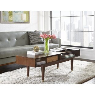 Bargain West Hill Coffee Table with Storage By Mercury Row