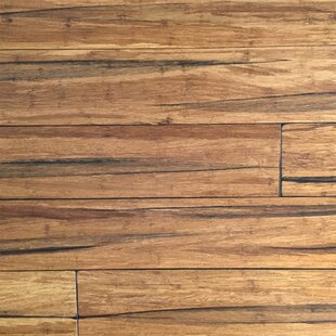 5 2 3 Solid Strandwoven Bamboo Flooring In Peppercorn