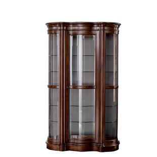 Gentil Millhouse Lighted Curio Cabinet