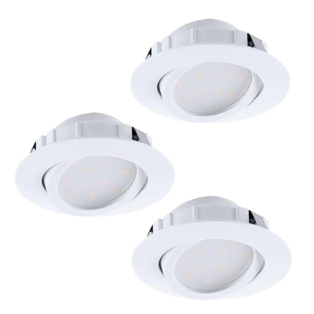 Rafaella 8.4cm LED Recessed Retrofit Downlight Set