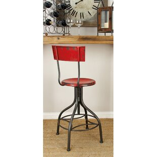 Lomita Adjustable Height Swivel Bar Stool Trent Austin Design