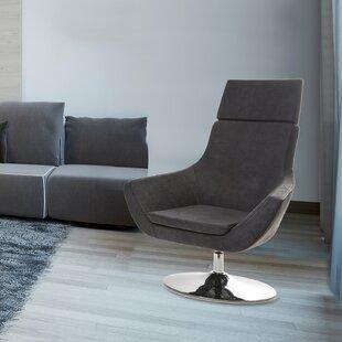 Bargain Crafa Swivel Lounge Chair by Orren Ellis Reviews (2019) & Buyer's Guide