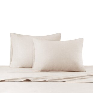 Elisabeth Heathered Cotton Jersey Knit Sheet Set