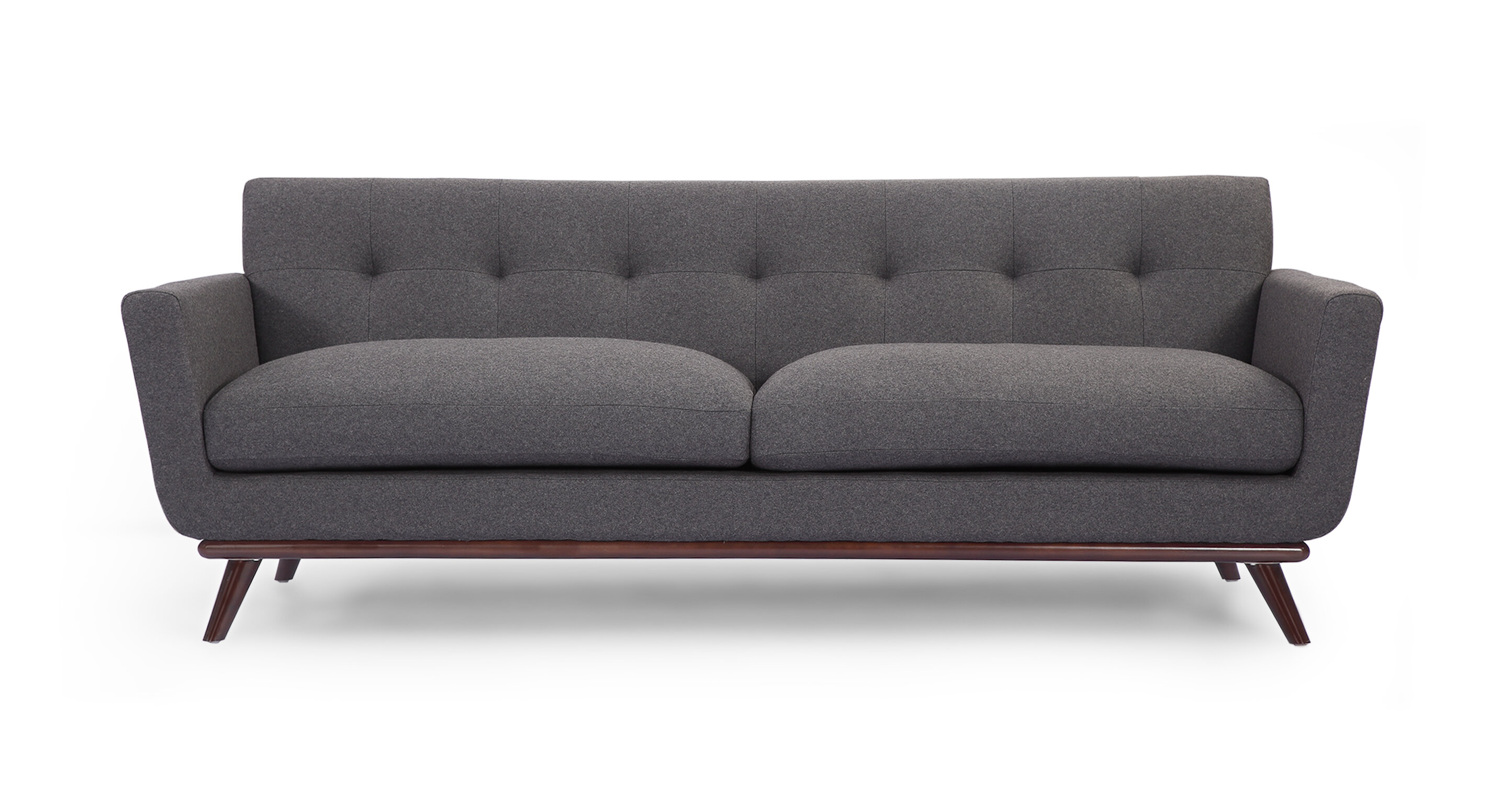 Luther Mid Century Modern Vintage Sofa