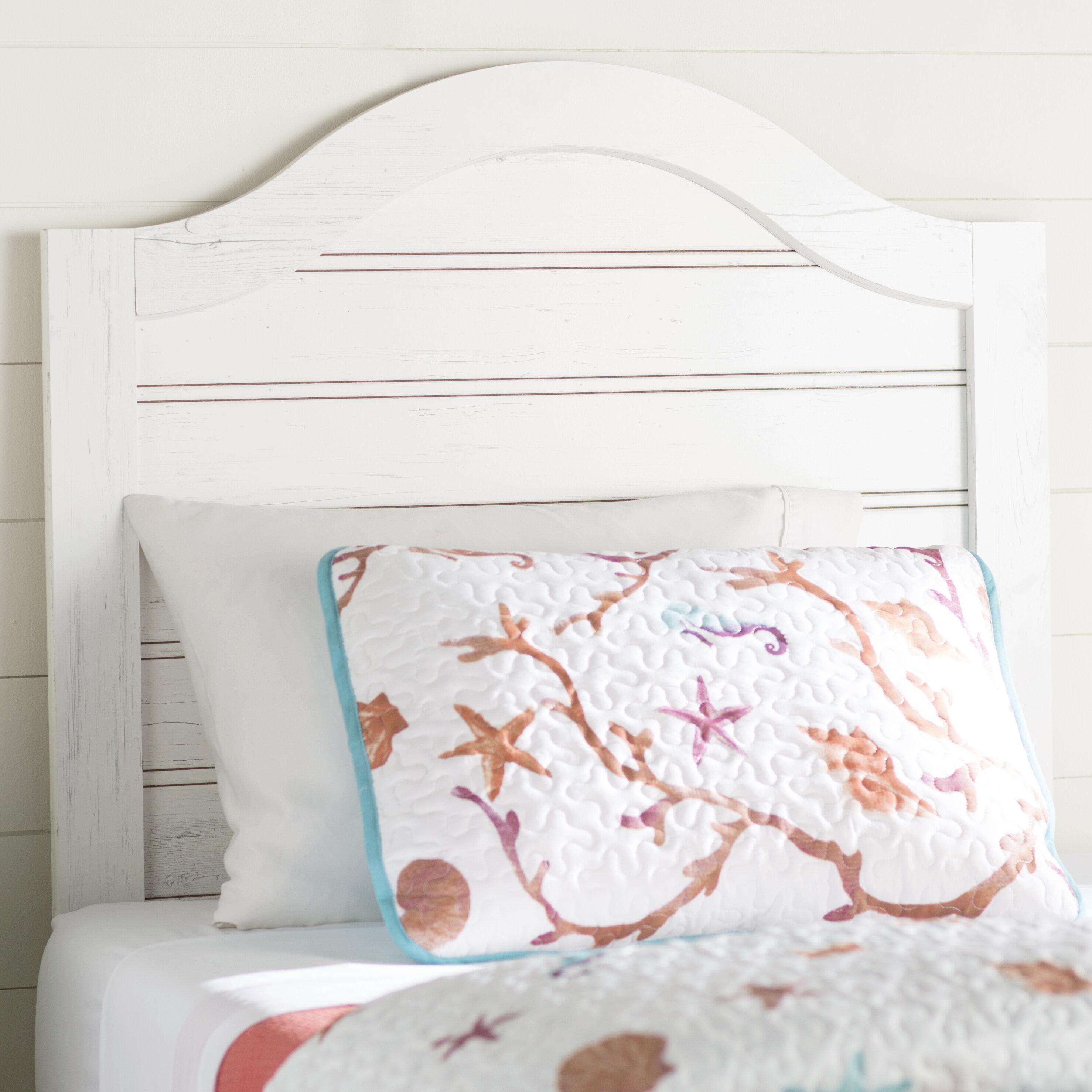 Image of: Beachcrest Home Cierra Twin Headboard Reviews Wayfair