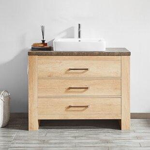 Purchase Kemp 42 Single Bathroom Vanity Set ByUnion Rustic