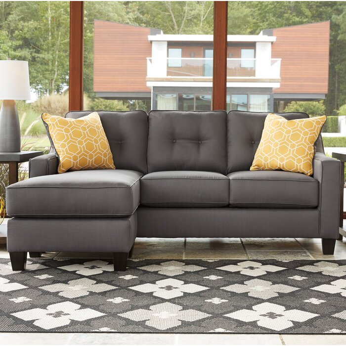 Fantastic Micah Reversible Sectional Inzonedesignstudio Interior Chair Design Inzonedesignstudiocom