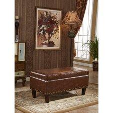 Charleston Premium Storage Bench Ottoman by Bellasario Collection