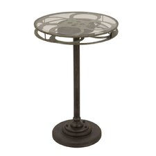 Urban Designs Holllywood Film Reel End Table by EC World Imports