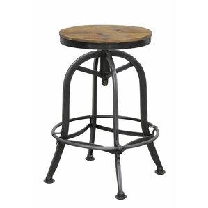 southbridge adjustable height swivel bar stool