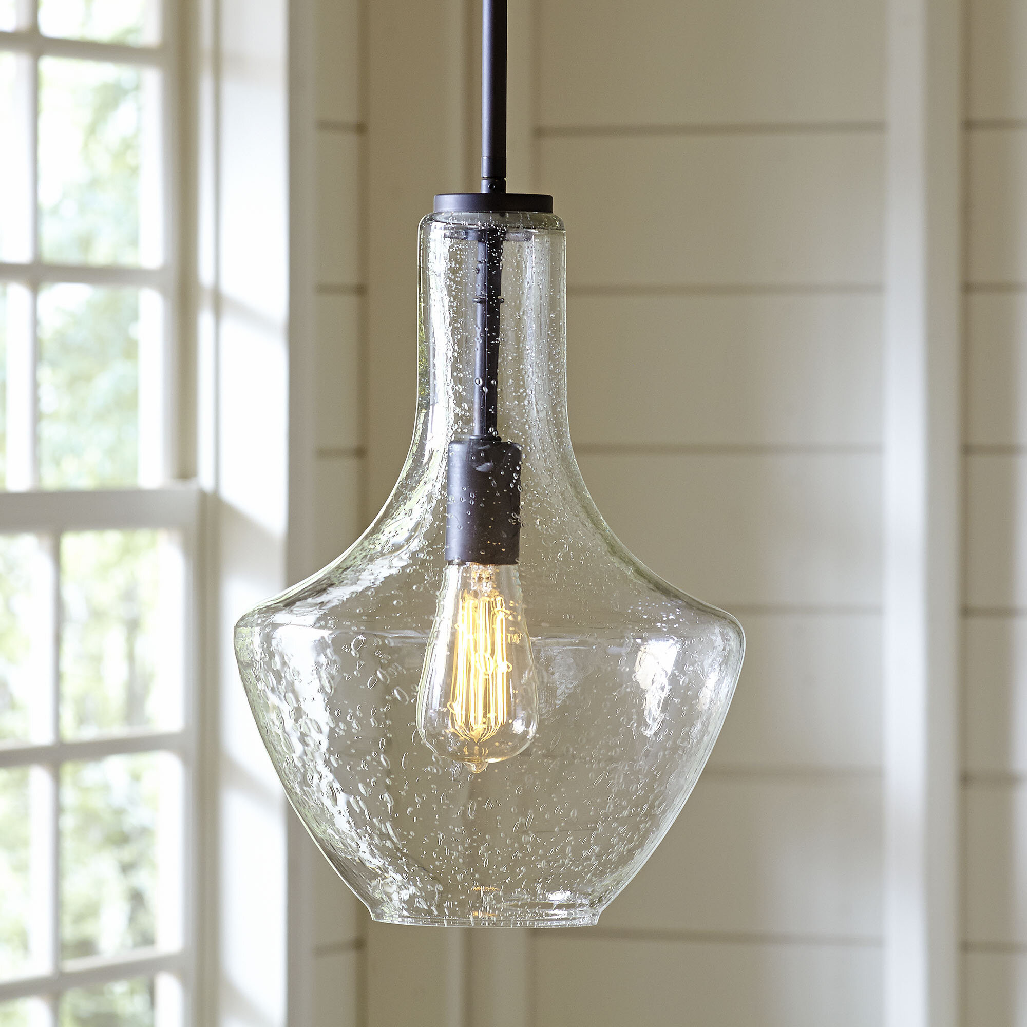 Birch Lane Heritage Goffredo 1 Light Schoolhouse Pendant Reviews