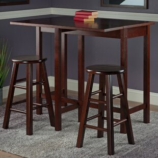 Bettencourt 3 Piece Counter Height Pub Table Set Red Barrel Studio