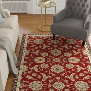 Affordable Price Kristy Red/Yellow/Black Area Rug ByCharlton Home