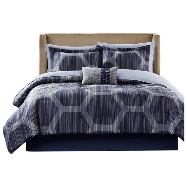 Zipcode Design Yancy Complete Reversible Comforter Set Reviews Wayfair