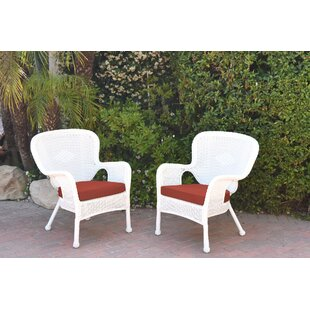 Damarion Arm Chair with Cushions (Set of 2)
