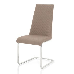 Faron Diamond Stitching Detail Upholstered Dining Chair (Set of 2) Orren Ellis
