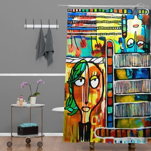 Robin Faye Gates Musical Chairs Single Shower Curtain